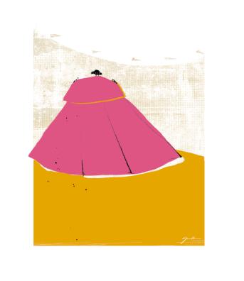 Acojonao (mancha 17 x 22 cm)